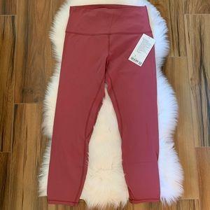 Align pant misty merlot MYMT lululemon leggings